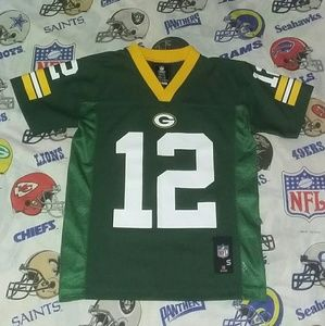 Aarons Rodgers Green Bay Packers Kids Jersey NFL